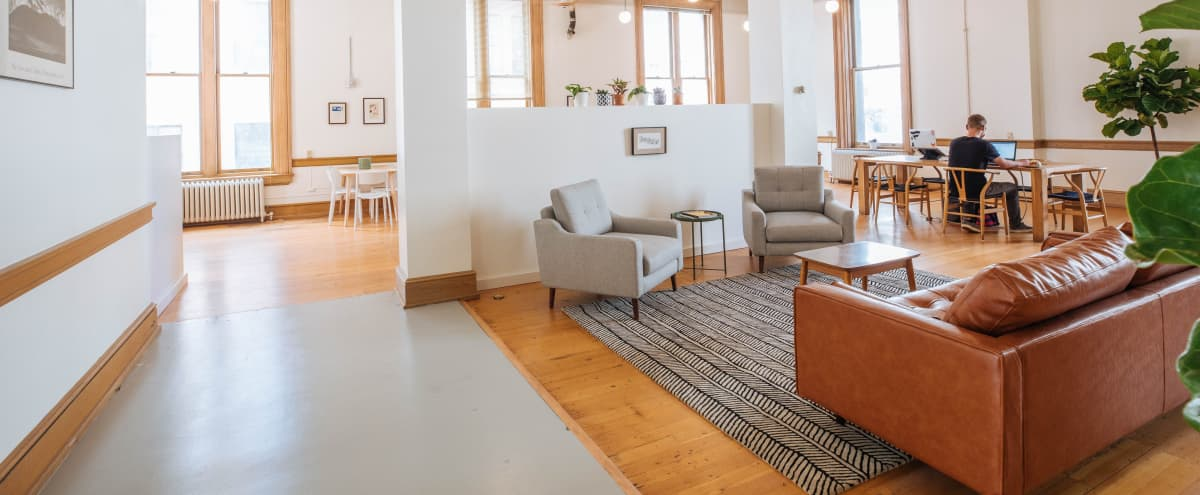 Beautiful Tacoma offsite space in historic building with natural light (evenings and weekends) in Tacoma Hero Image in New Tacoma, Tacoma, WA