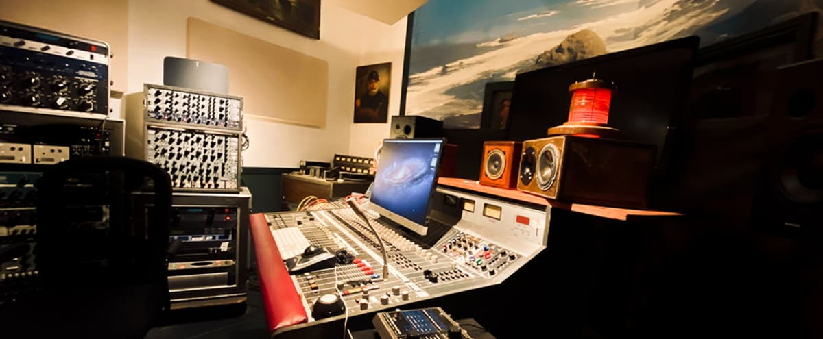 Legendary LA Recording Studio - Vintage + Vibey with a Nautical Flair! in Los Angeles Hero Image in Northeast Los Angeles, Los Angeles, CA