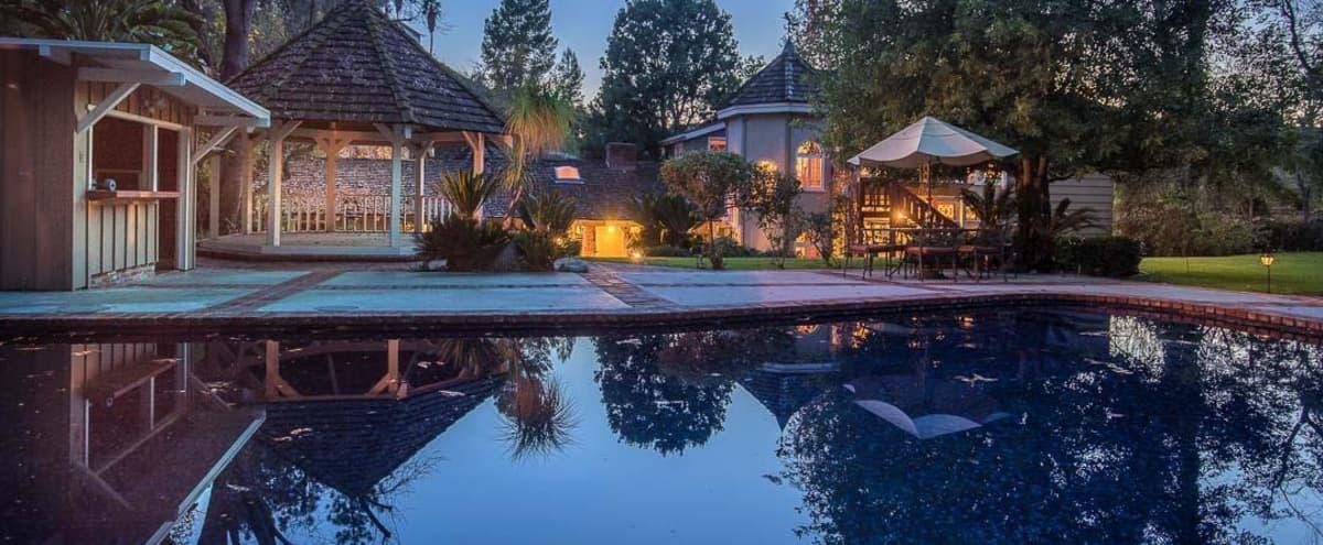 27000 SF yard with beautiful nature & tiled pool. in Tarzana Hero Image in Tarzana, Tarzana, CA