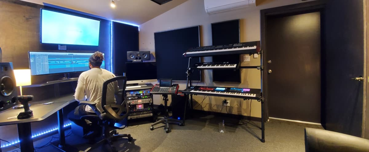 Burbank Music Production Room in Burbak Hero Image in North Hollywood, Burbak, CA