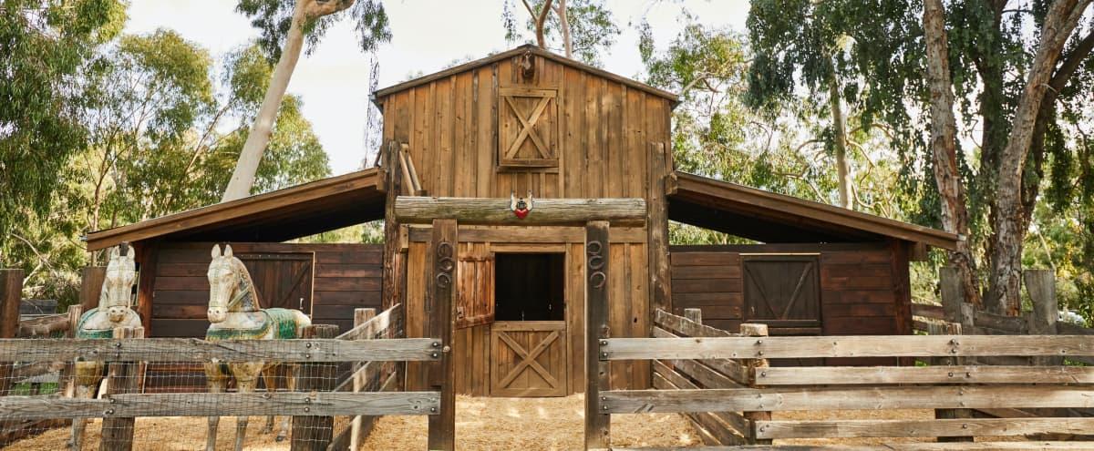 New! The Barn in Topanga with Outdoor Deck in Topanga Hero Image in undefined, Topanga, CA