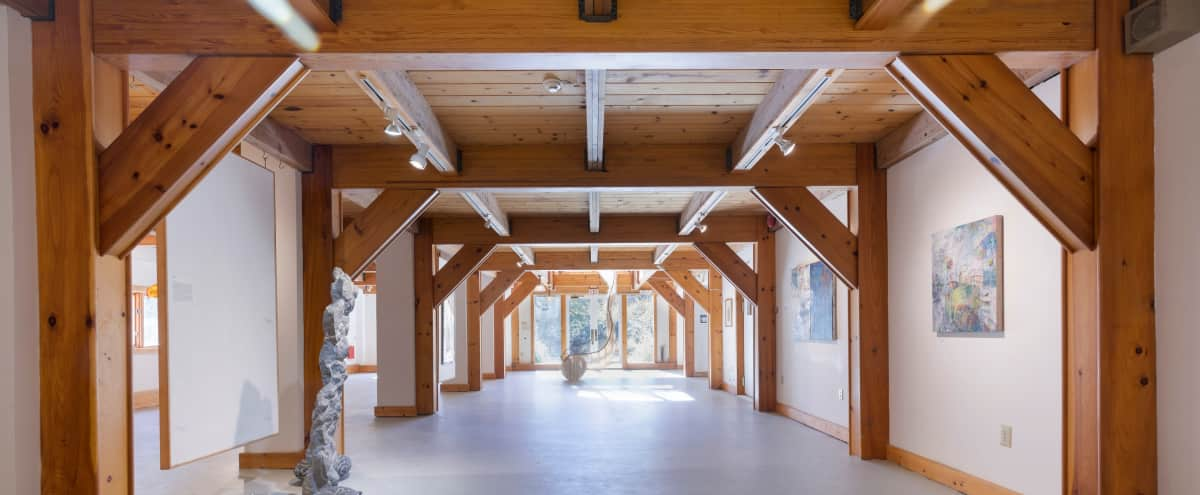 Great, magnificent, private, renovated country barn combination multipurpose commercial space-luxurious duplex penthouse in famous Hudson Valley town in Woodstock Hero Image in undefined, Woodstock, NY
