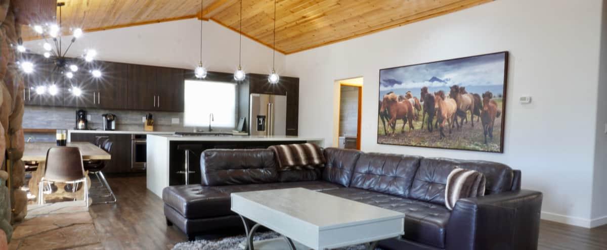 Large Modern Home in Big Bear Lake with Amazing Ski Slope Views in Big Bear Lake Hero Image in undefined, Big Bear Lake, CA
