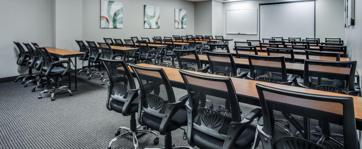 40 Person Training Room - Projector w/ Screen - Podium in Dallas Hero Image in Northeast Dallas, Dallas, TX