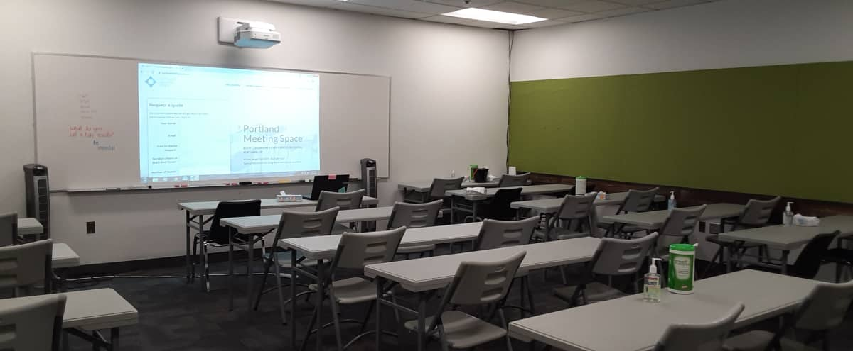 Affordable & Well-Appointed Classroom/Meeting Space in Lloyd District | #2 in Portland Hero Image in Northeast Portland, Portland, OR