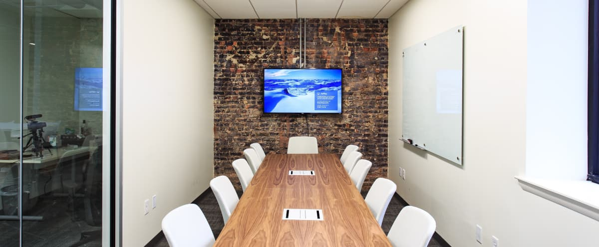 12 Person Meeting Room in Creative Space Located in Augusta in Augusta Hero Image in Downtown, Augusta, GA