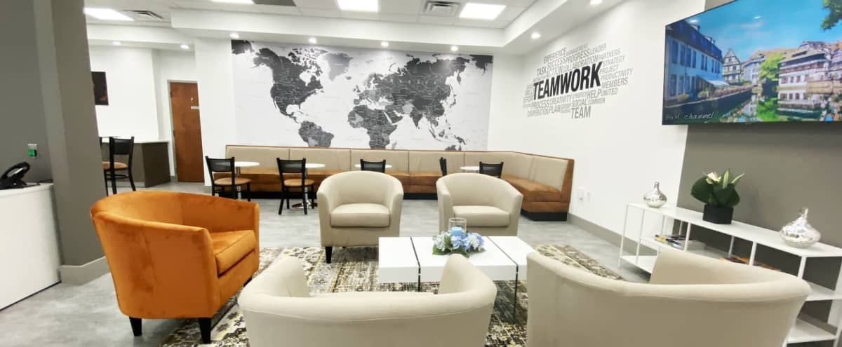 Modern Lounge Area Great for Networking Events in Orlando Hero Image in undefined, Orlando, FL