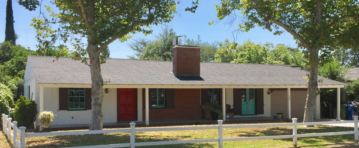 1930's San Fernando valley ranch house. Traditional, cozy,pool, large flat lot in Valley village Hero Image in Valley Village, Valley village, CA