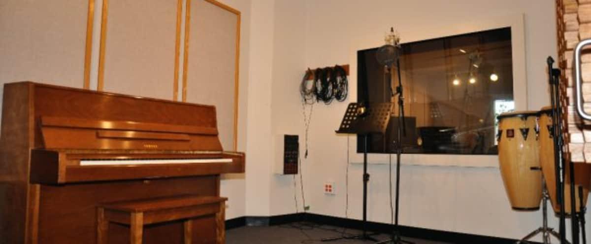 Full-Service Music Production Facility | Studio C in Boston Hero Image in Back Bay West, Boston, MA