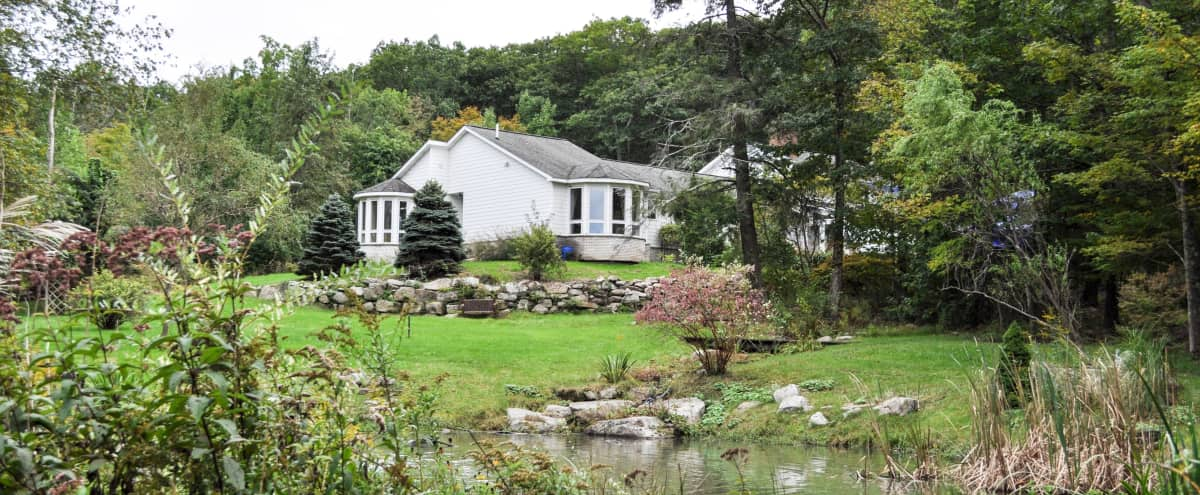 Enchanting Catskill Colonial Home On 14 Acres in Pine Bush Hero Image in undefined, Pine Bush, NY