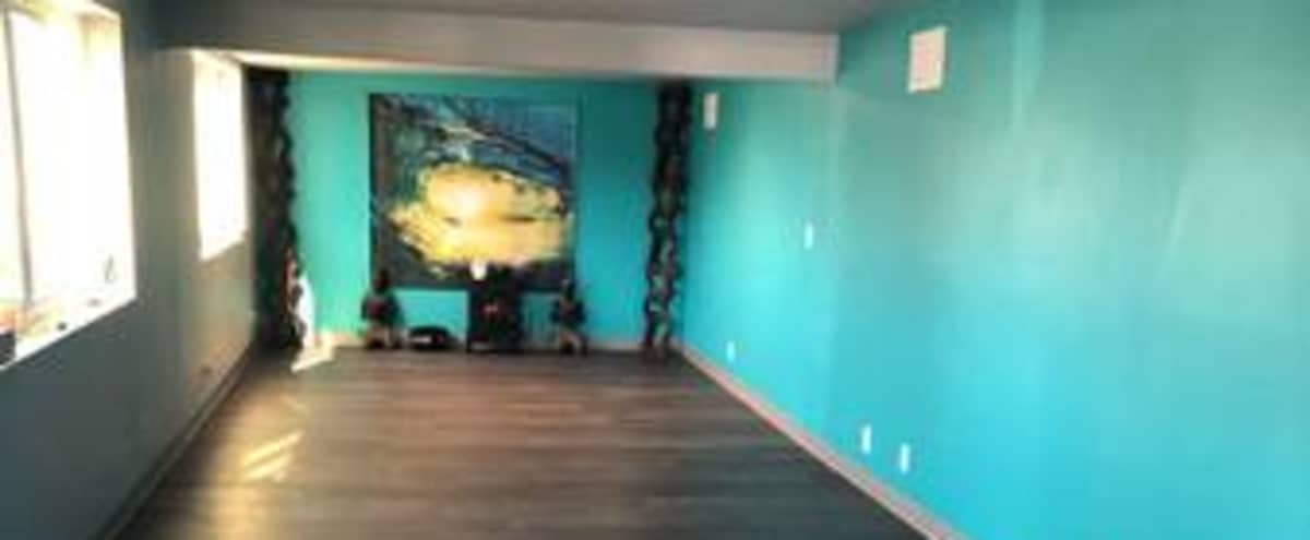Waterfront Marina Yoga Studio with Large Deck in San Diego Hero Image in Mission Bay, San Diego, CA