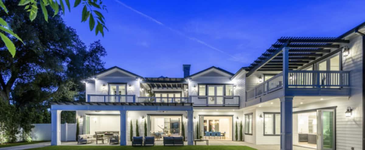 Brand New Hampton Style Mansion in Encino Hero Image in Encino, Encino, CA