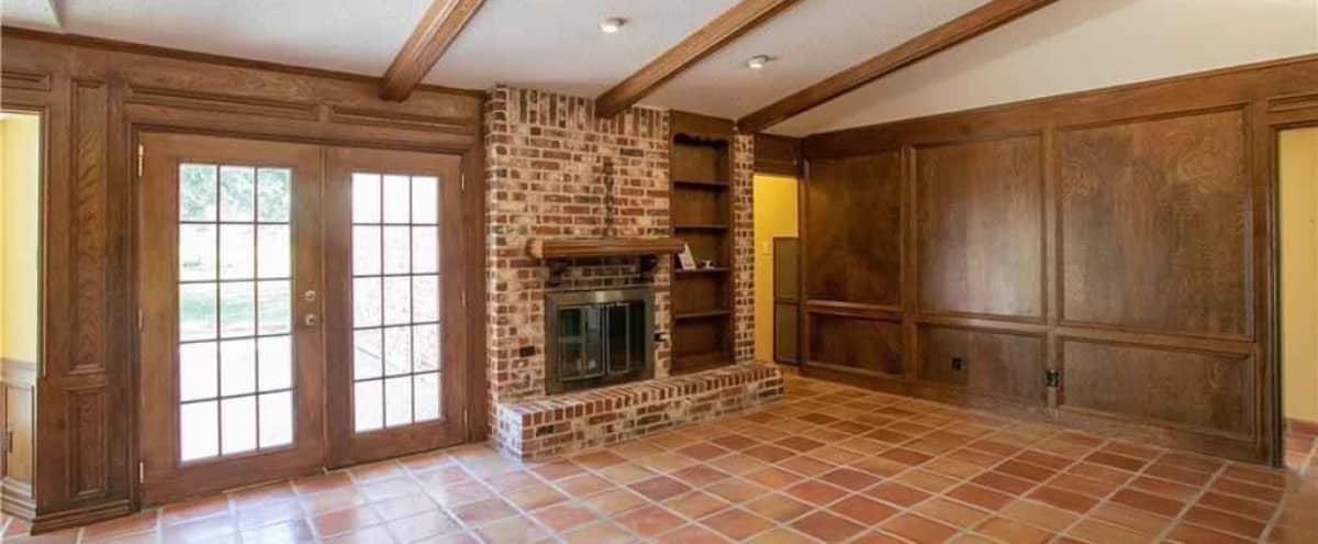 70s Time Capsule home. in Austin Hero Image in River Oak Lake Estates, Austin, TX