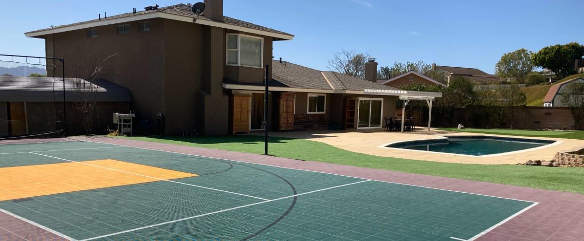 Backyard - Pool & Sports Court in Thousand Oaks Hero Image in undefined, Thousand Oaks, CA