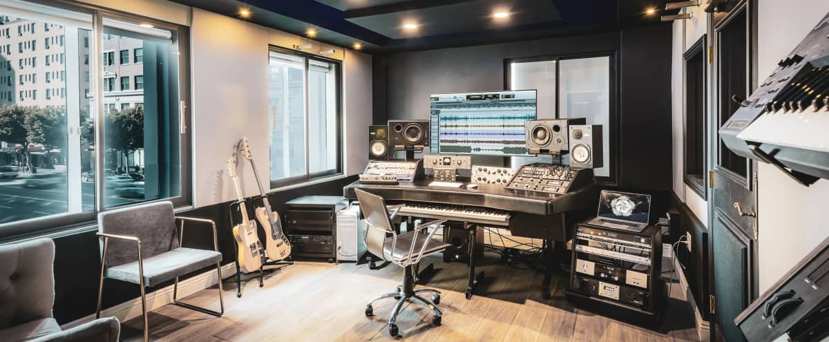 Very User Friendly, Stylish, & High-End Urban Recording Studio in Los Angeles Hero Image in Central LA, Los Angeles, CA