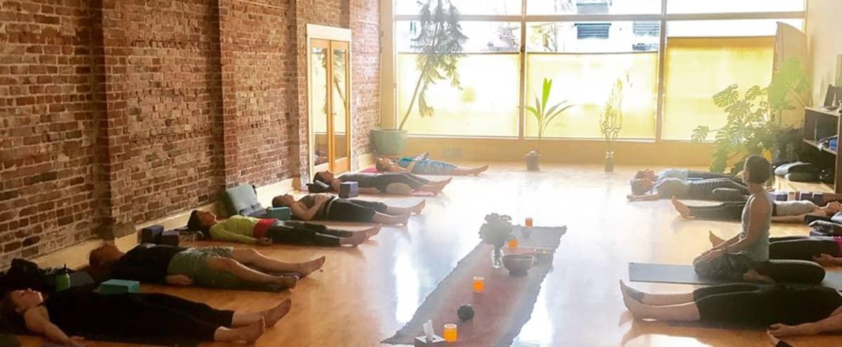 Large Charming Yoga Studio, Performance Space, Seminar Space in Historic Building in Seattle Hero Image in Old Ballard, Seattle, WA