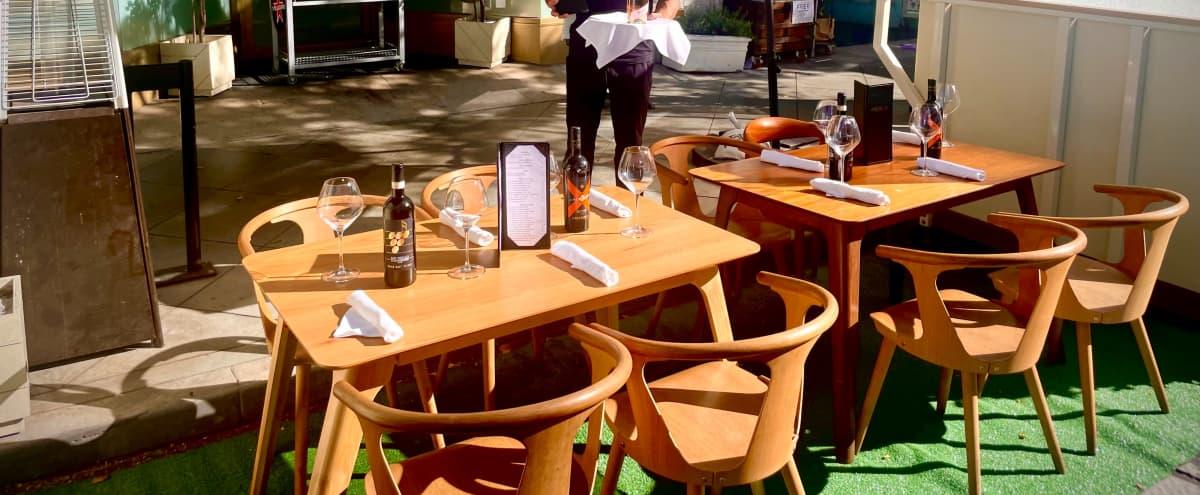 Beautiful Outdoor Social or Dinner Space in Santa Monica Hero Image in Downtown, Santa Monica, CA