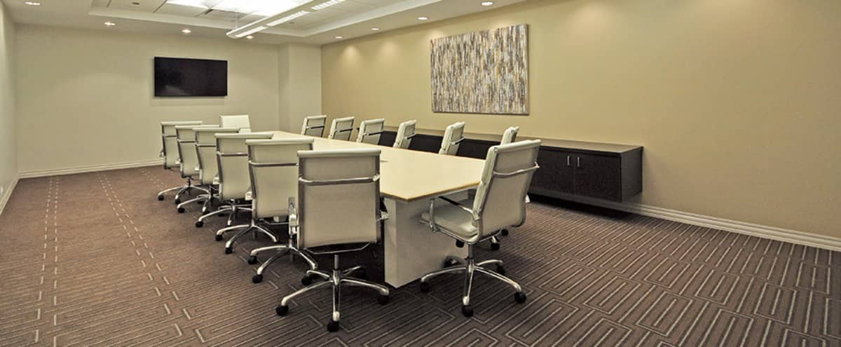 Spacious, elegant Loop Meeting Room for up to 20 in Chicago Hero Image in The Loop, Chicago, IL