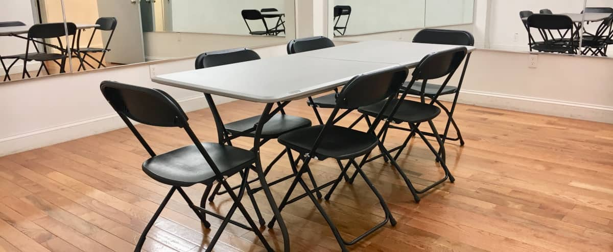 Affordable Midtown Meeting Space with High Ceilings and Wooden Floors in New York Hero Image in Midtown, New York, NY