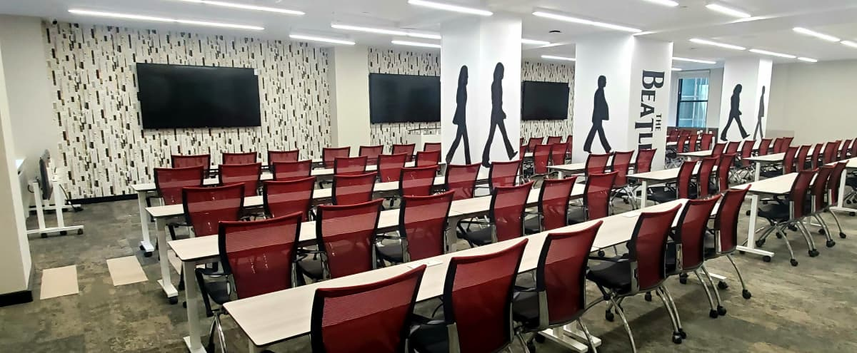 Brand New 170 Person, Stunning Conference Space-Plaza District in New York Hero Image in Midtown Manhattan, New York, NY