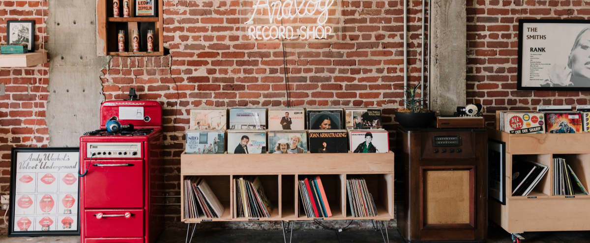 Analog Record Shop in Long Beach Hero Image in Zaferia, Long Beach, CA