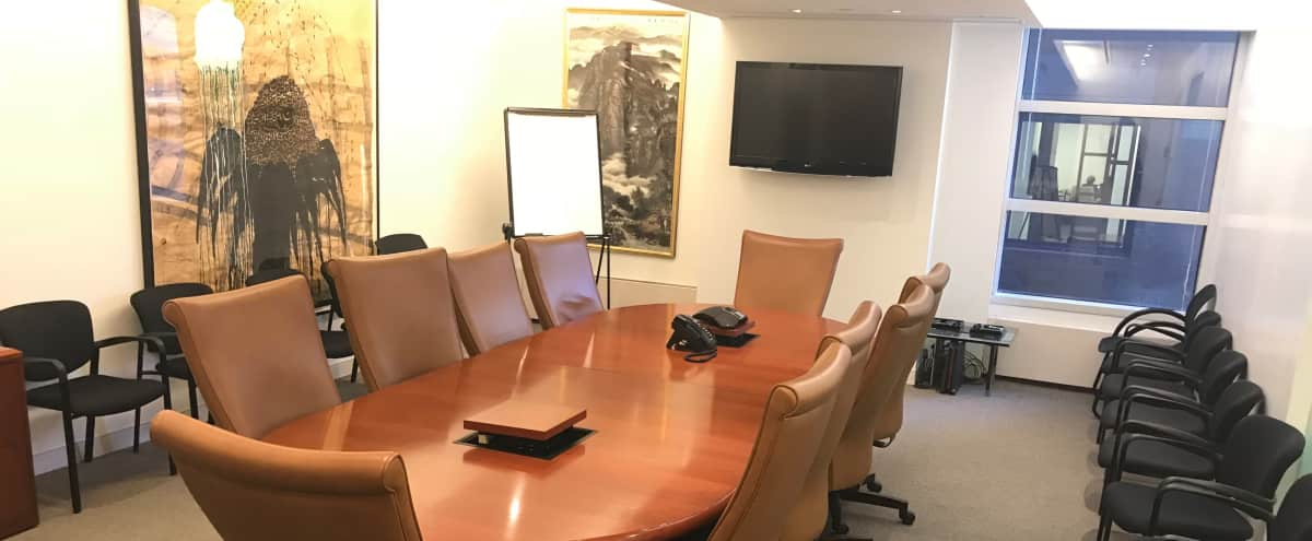 Midtown Conference Room in New York Hero Image in Midtown, New York, NY