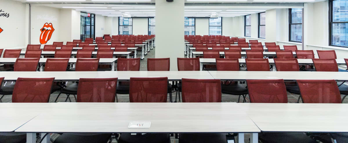 Rolling Stones Room- Awesome 250 Person, Brand New Conference Space-Plaza District/35% Discounted in New York Hero Image in Midtown Manhattan, New York, NY