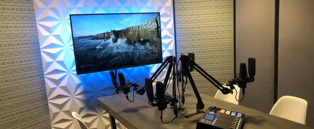 Modern Audio Recording Podcast Room in Vista Hero Image in undefined, Vista, CA