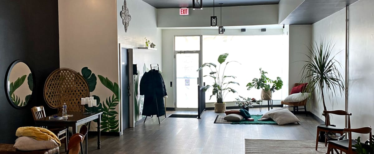 Boho-chic Studio for Workspace or Flex in Chicago Hero Image in Portage Park, Chicago, IL
