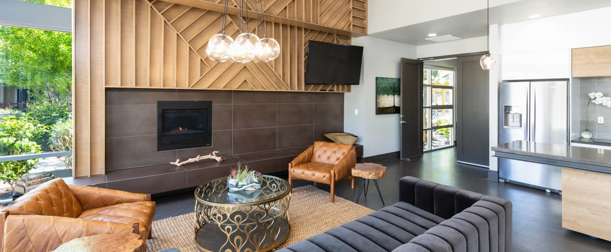 Modern Event Lounge with Game Room and Outdoor Space in San Mateo Hero Image in East San Mateo, San Mateo, CA