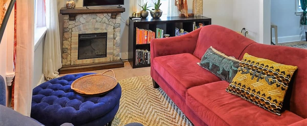 Bohemian Townhouse in a Quiet Part of the City. in Camden Hero Image in Fairview, Camden, NJ