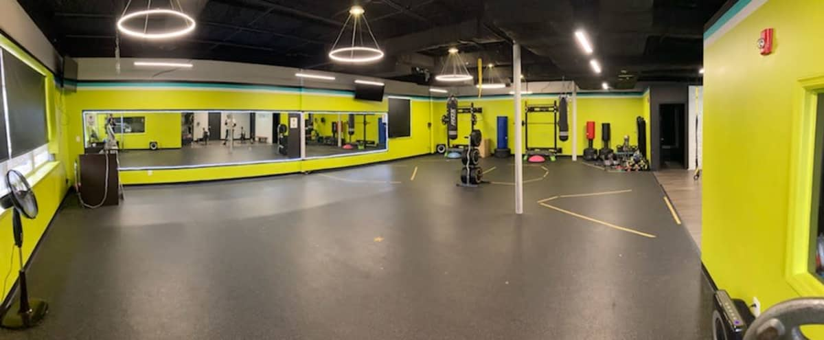 Unique Fitness Studio In the Heart of Silver Spring in Silver Spring Hero Image in Woodmoor, Silver Spring, MD