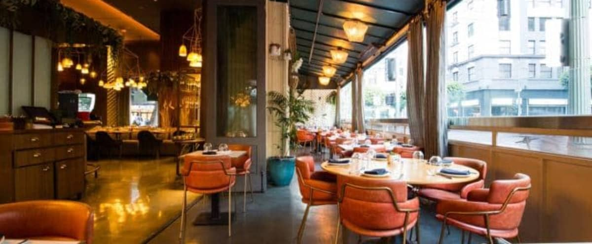 Modern Downtown Restaurant with Private Dining Rooms & Patios in Los Angeles Hero Image in Central LA, Los Angeles, CA