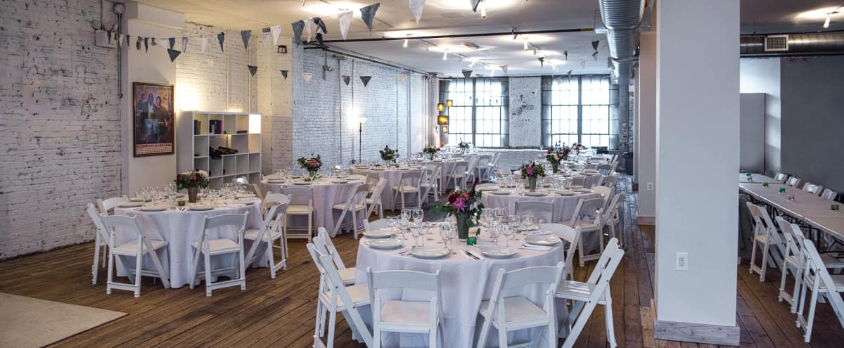 3200 sq/ft Old-School Brooklyn Loft and Event Space in Brooklyn Hero Image in Sunset Park, Brooklyn, NY