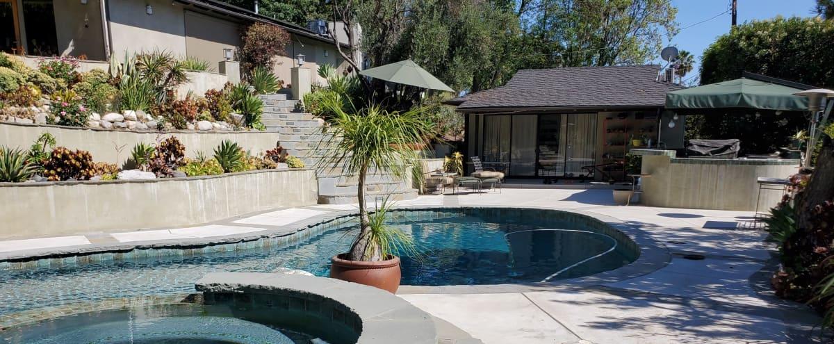 Backyard Oasis with Swimming Pool in Encino Hero Image in Encino, Encino, CA