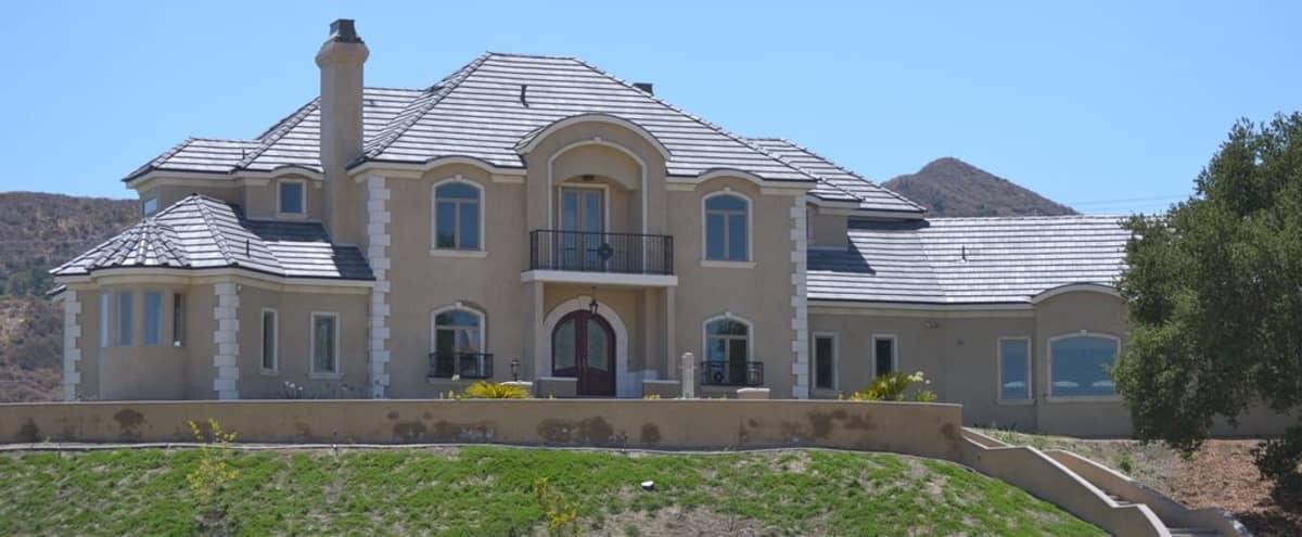 French Country Manor Home Estate in Santa Clarita Hero Image in undefined, Santa Clarita, CA