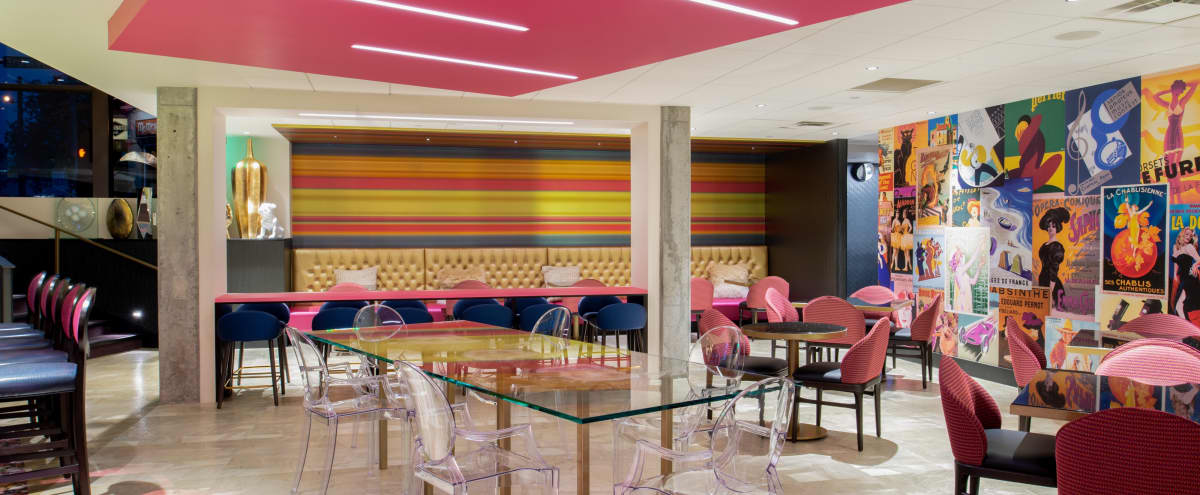 Bright and Fun Urban Semi-Private Reception Space near Seattle Center in Seattle Hero Image in Lower Queen Anne, Seattle, WA