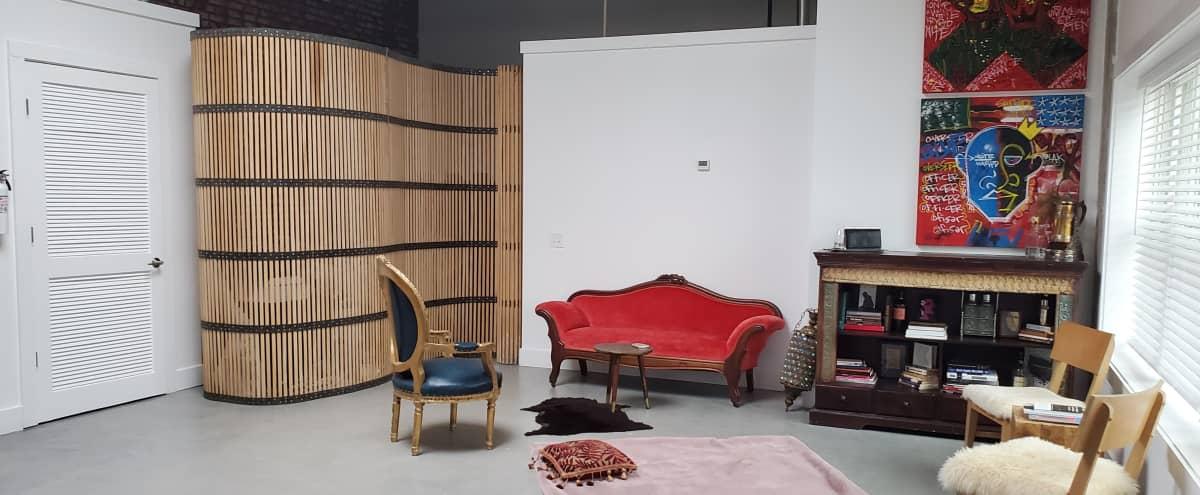 Industrial Loft-Style Studio Residence w/ Courtyard Access in Newark Hero Image in Seventh Avenue, Newark, NJ