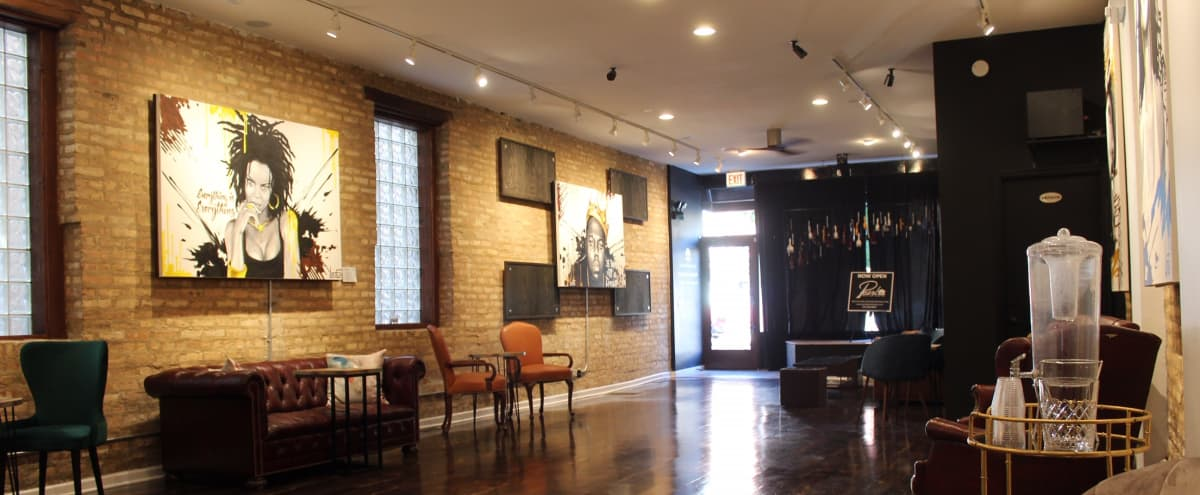 Large, Upscale Wicker Park Event Space in Chicago Hero Image in Ukrainian Village, Chicago, IL