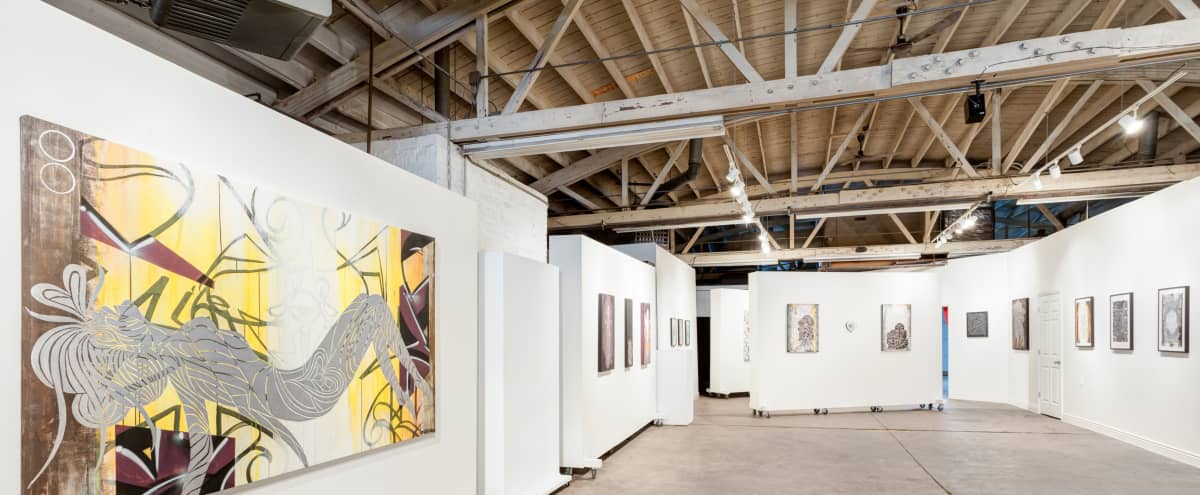 Spacious Industrial Gallery Event Space 10 min. from Downtown in Chicago Hero Image in Bridgeport, Chicago, IL