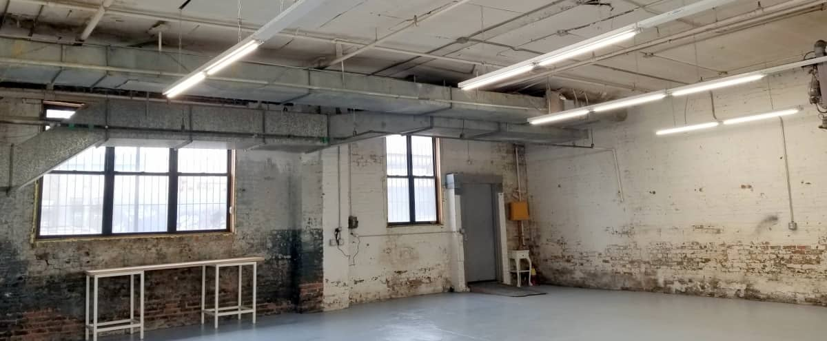 Raw industrial space in Bushwick Brooklyn ready to be converted for your production or event! in Brooklyn Hero Image in East Williamsburg, Brooklyn, NY