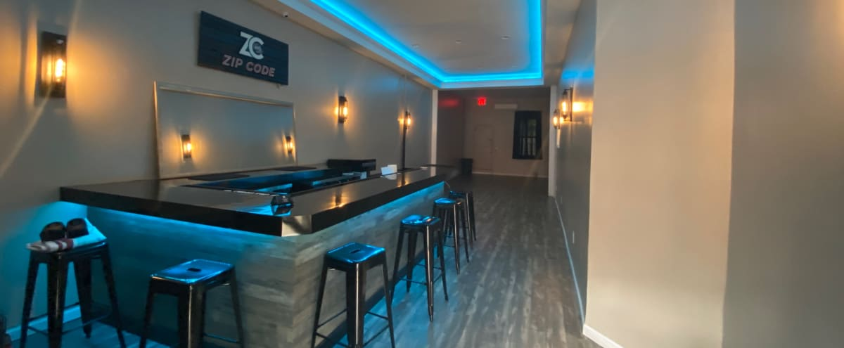 New Well Lit Event Space with Backyard (Zip Code Lounge) in Brooklyn Hero Image in East Flatbush, Brooklyn, NY