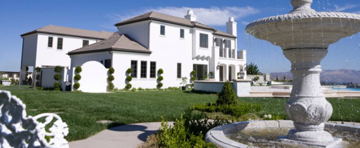 WHITE CALABASAS LOCATION ESTATE in Calabasas Hero Image in The Oaks, Calabasas, CA