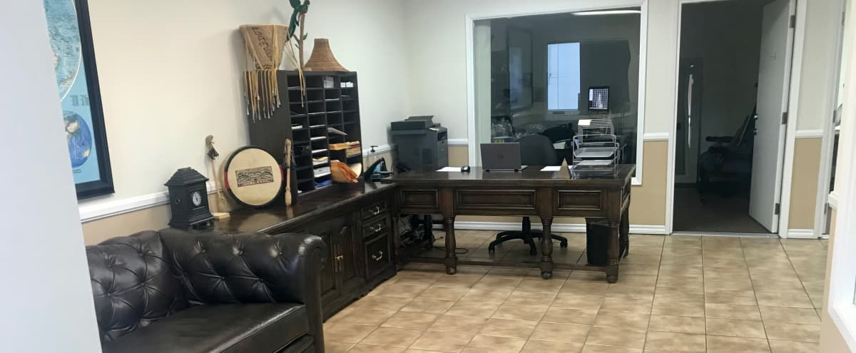 OC Traditional Office Space with Lots of Lighting in Santa Ana Hero Image in undefined, Santa Ana, CA