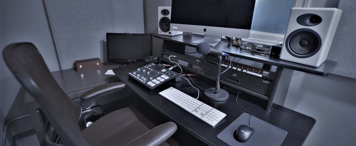 Podcast studio in the heart of Chelsea, Manhattan in New York Hero Image in Midtown Manhattan, New York, NY
