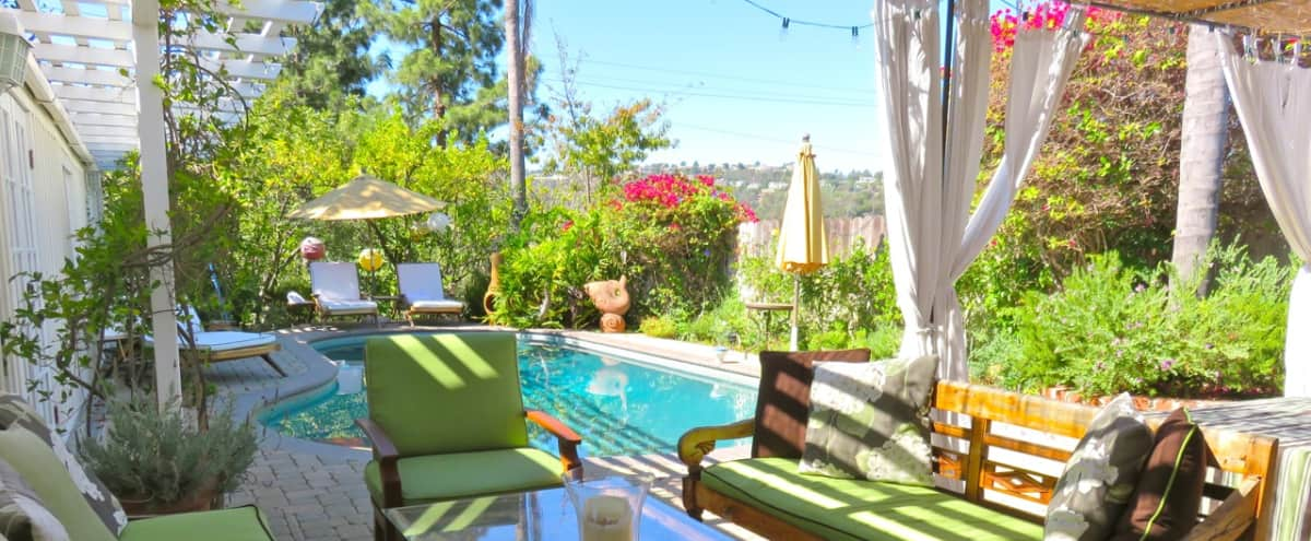 Charming Hillside Retreat with Panoramic Views and Private pool in Studio City Hero Image in Studio City, Studio City, CA