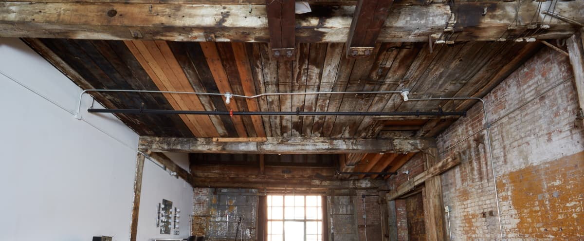 Brooklyn Rental Studio in Industrial Loft - Studio 520 - 800sf in Brooklyn Hero Image in Greenpoint, Brooklyn, NY