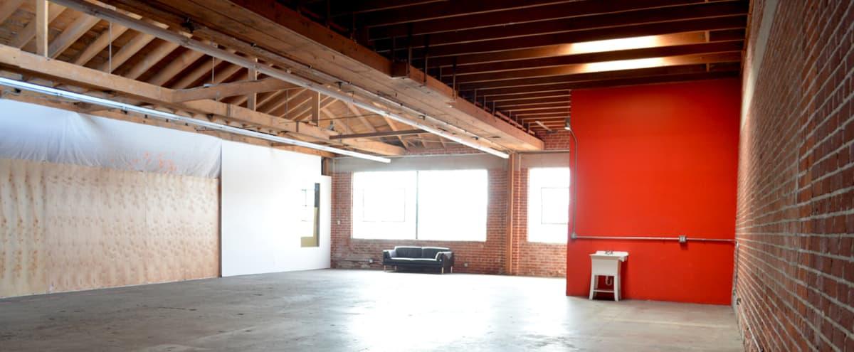 2,300 sqf Brick & Wood Warehouse Studio w 35 Car Gated Parking in LOS ANGELES Hero Image in South Los Angeles, LOS ANGELES, CA