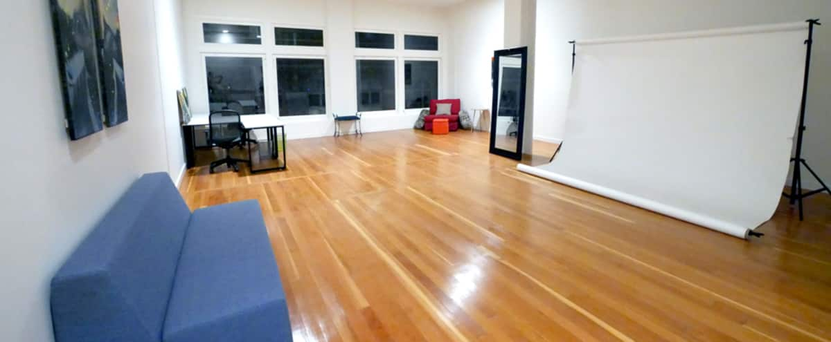 Creative Event Loft with Beautiful Views in Oakland Hero Image in Downtown Oakland, Oakland, CA