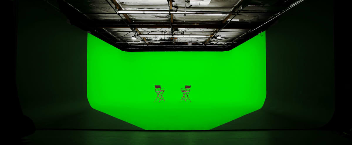 Green Screen Studio with 3-wall Cyclorama in Sun Valley Hero Image in Sun Valley, Sun Valley, CA